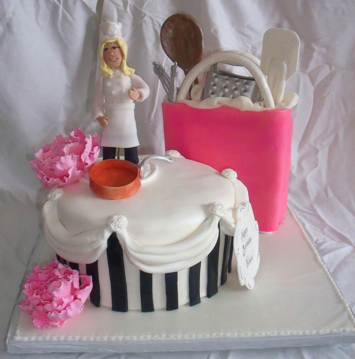 Chef Kitchen Cooking Theme Cake Main View
