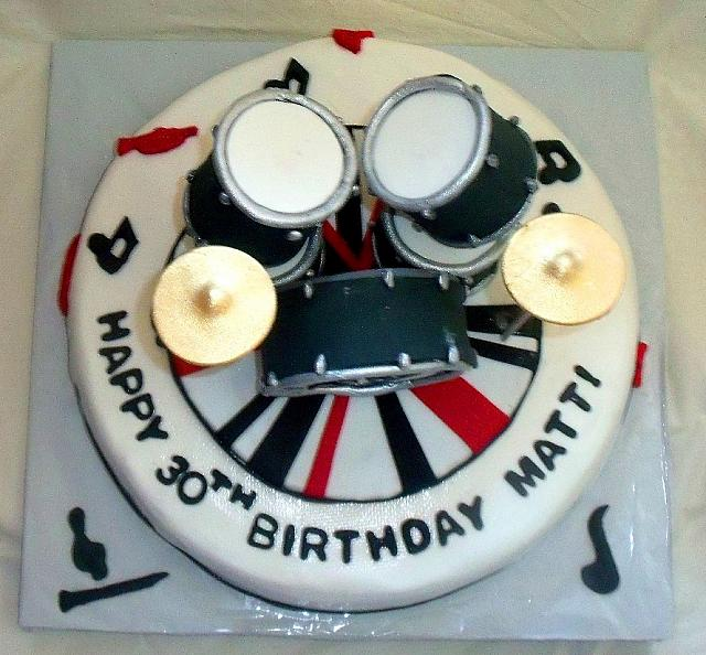 Images Of Music Themed Birthday Cakes